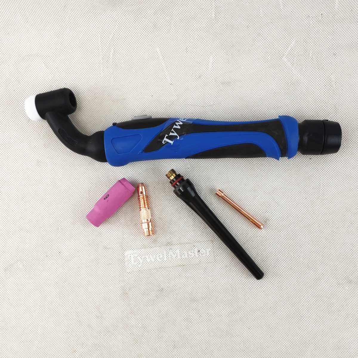 TIG Welding Torch Body WP-26 WP26V WP-26F WP26FV A-200 GTAW Torch Head WP26-V