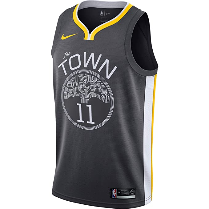 Nike NBA Golden State Warriors Klay Thompson 11 2017 2018 Statement Edition Jersey Official, Camiseta
