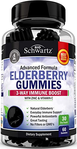 Natural Sambucus Elderberry Gummie
