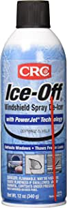 CRC Ice-Off Winshield Spray De-Icer Net Wt 12. oz. (340g) Pack of 2