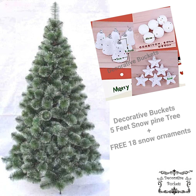 Decorative Buckets: CHRISTMAS TREE 5 FEET
