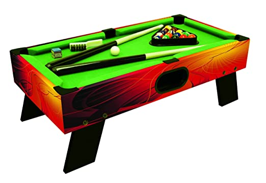 2 opinioni per Carromco 02008 Shooter XT- Biliardo da tavolo