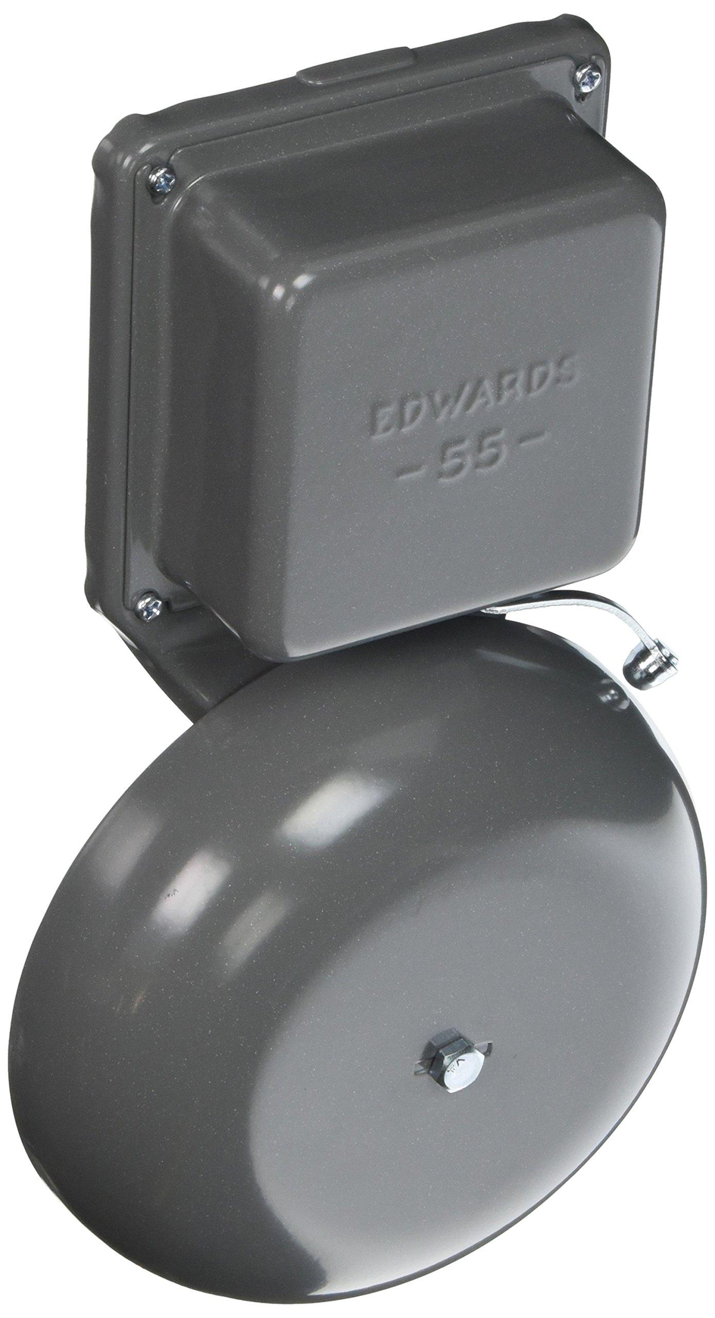 Edwards Signaling 55-6G5 Bell 6'' 24V60HZ by Edwards-Signaling (Image #1)