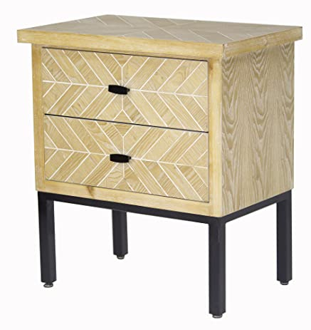 urban accents furniture. Heather Ann Creations W191401-WWP Urban Accent Cabinet 2-Drawer Parquet, White Washed Accents Furniture