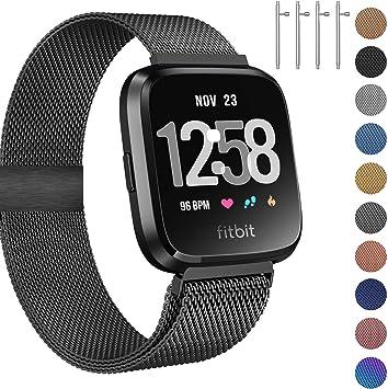 Amazon.com: Fitlink - Correa de metal compatible con reloj ...