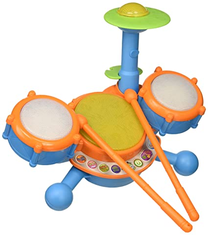 7ea595a9d Amazon.com: VTech KidiBeats Drum Set (Frustration Free Packaging): Toys &  Games