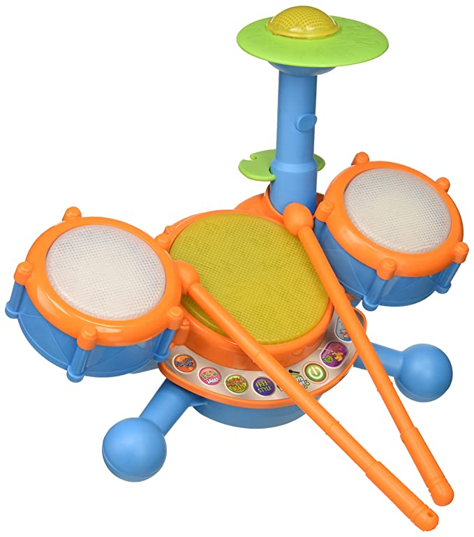 VTech KidiBeats Drum Set (Frustration Free Packaging) $18