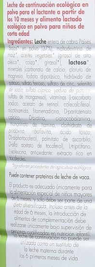 Babybio Caprea Leche 3 Crecimiento - 900 gr: Amazon.es: Alimentación y bebidas
