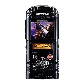 Olympus - Grabadora Digital PCM LS-20M incl. Tarjeta SD, adaptador AC, batería Litio