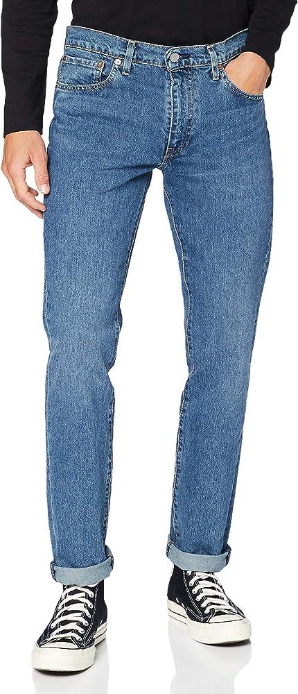 Levi's 511 Slim Fit Jeans Pantalón vaquero elástico y con corte estilizado para Hombre