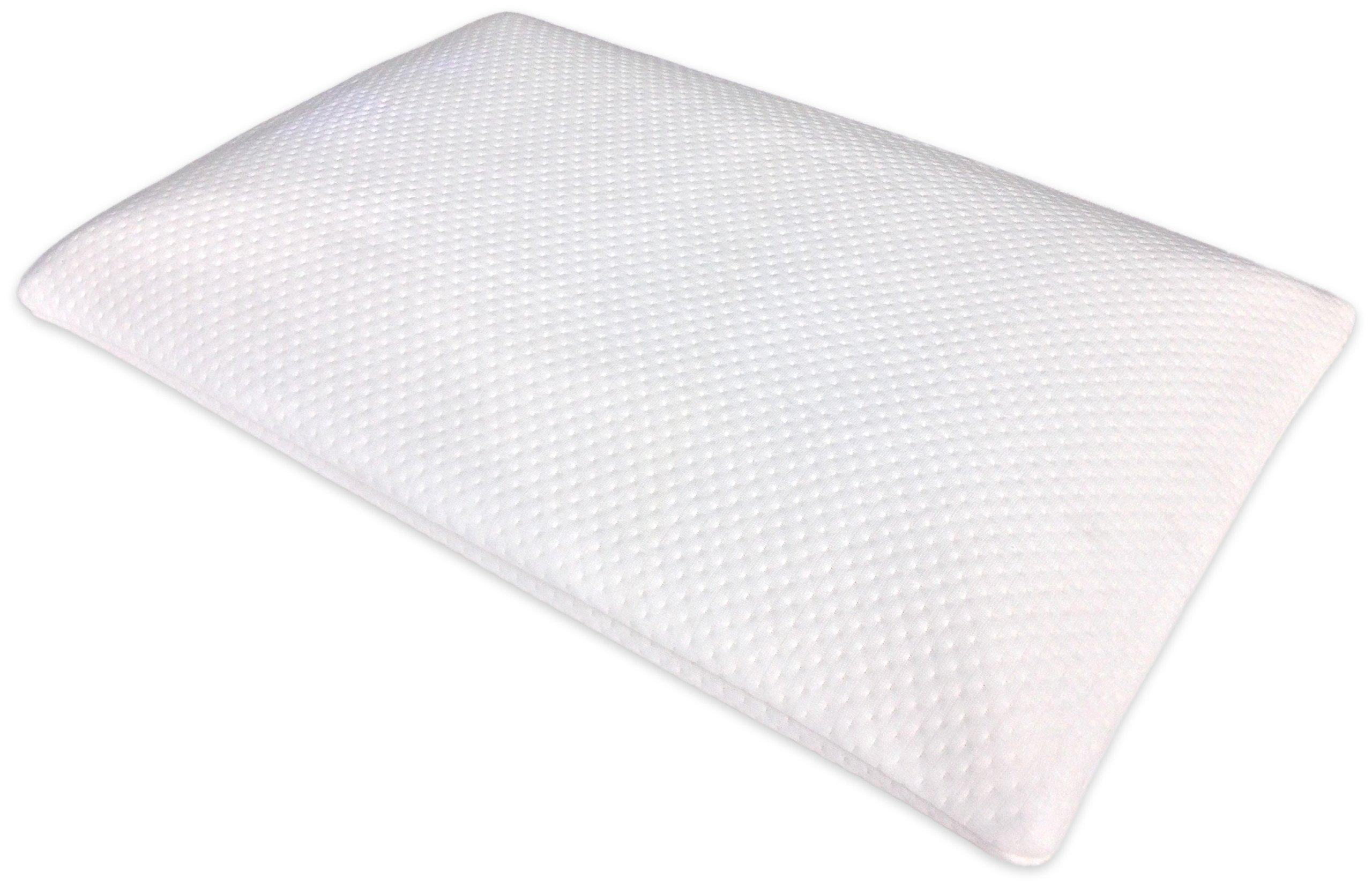 Home Luxury Living 2 5 Inch Ultra Thin Memory Foam Pillow