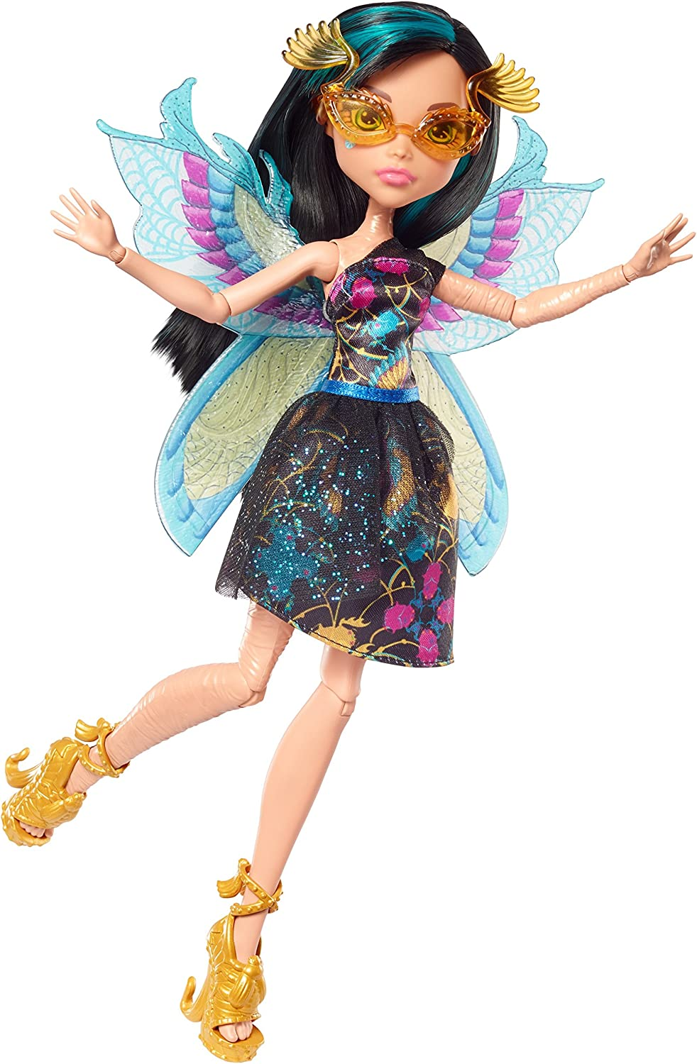 Monster High- Ninfas con alas - Cleo de Nile (Mattel FCV54)