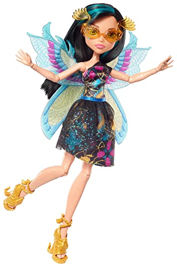 Amazoncom Monster High Garden Ghouls Wings Cleo De Nile Doll