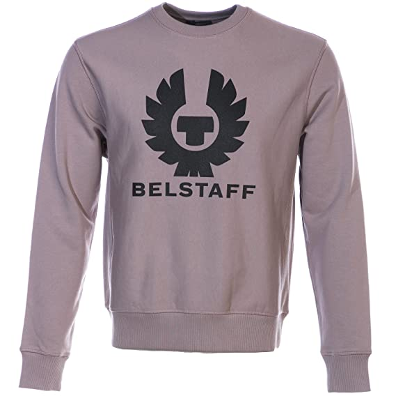 60bfbf361a6c Belstaff Holmswood Sweat Top in Dusty Orchid L  Amazon.co.uk  Clothing