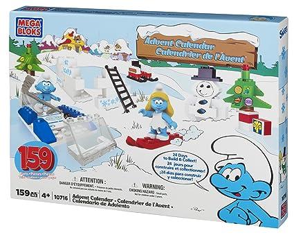 Amazon.com: mega bloks Pitufos calendario de adviento: Toys ...