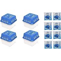 Luftentfeuchter Nachfüllpack Vliesbeutel XXL Box Granulate Nachfüllen Raumentfeuchter + gratis Microfasertuch 35 x 30 cm