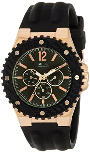 f1f45614b1 Buy Guess Analog Black Dial Men s Watch - W12653G1 Online at Low Prices in  India - Amazon.in