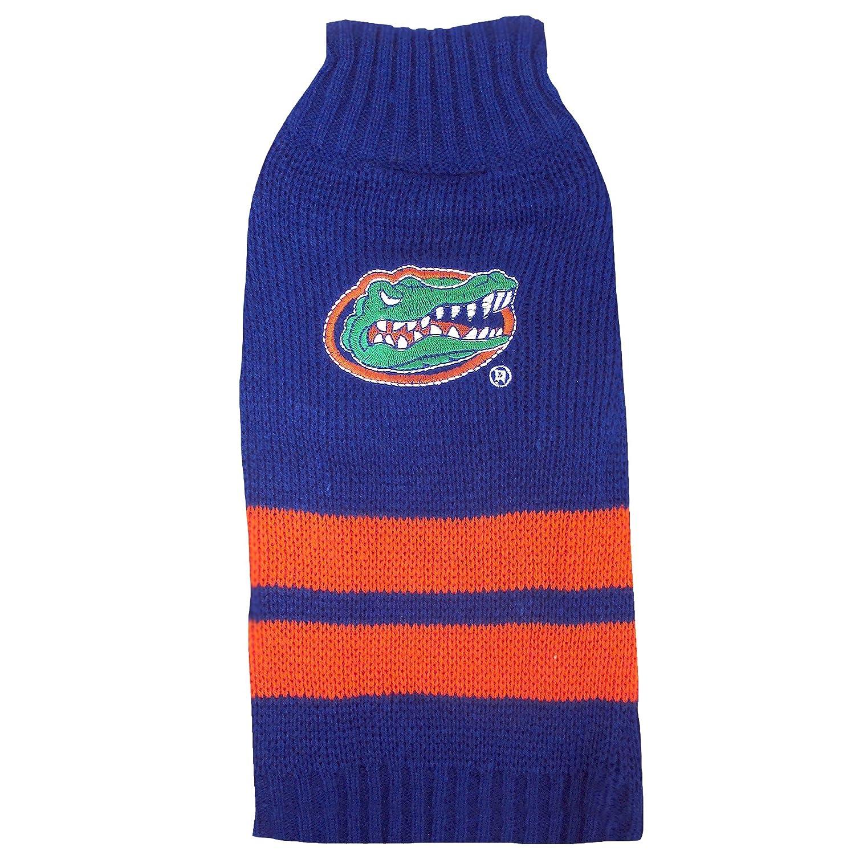 Amazon Pets First Collegiate Florida Gators Pet Sweater Small