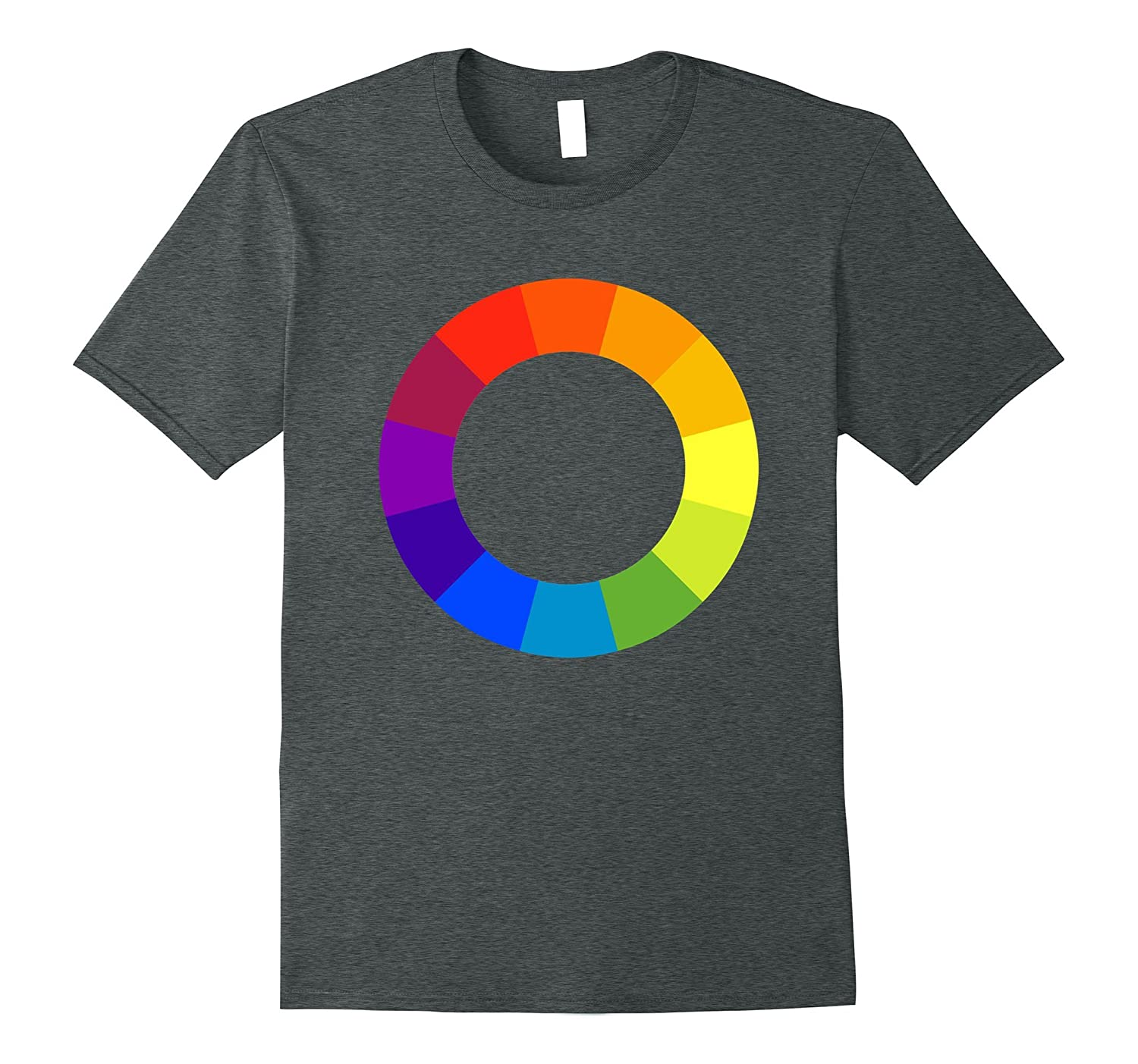 Color Circle Palette Shirt Artist Painter Art Teacher Tshirt-FL
