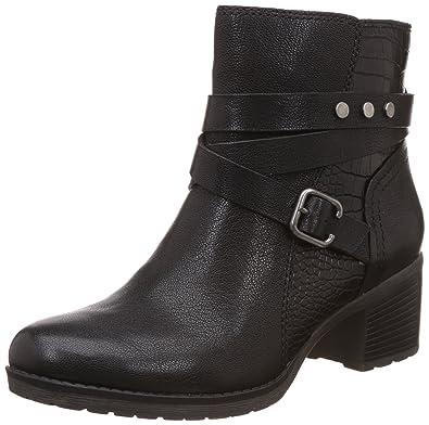 Naturalizer Women's Ringer Black Leather Boots - 4 UK/India (37 EU)(