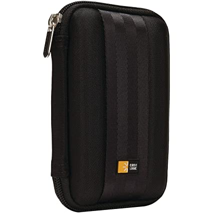 edc34344e Amazon.com  Case Logic QHDC-101 Portable EVA Hard Drive Case - Black   Electronics