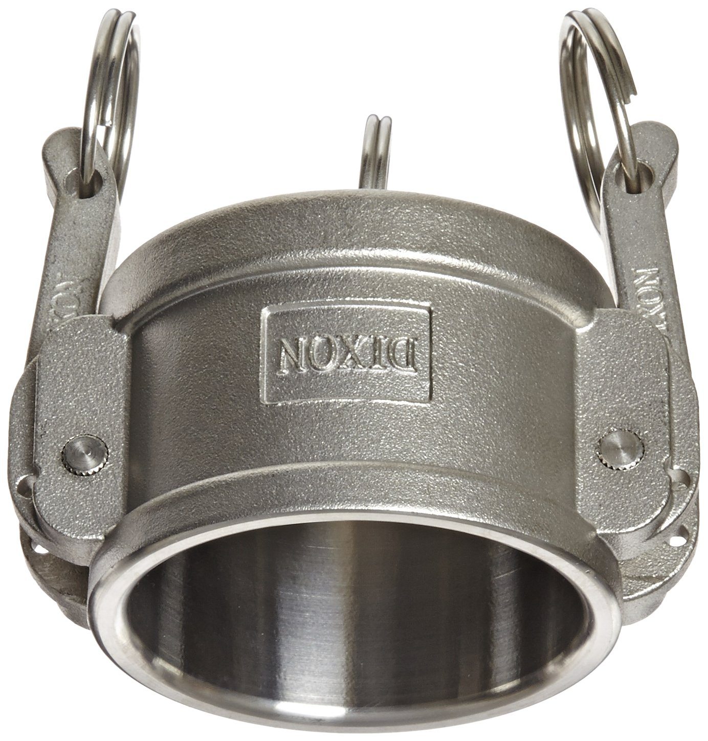 Dixon G200-DC-SS Investment Cast Stainless Steel 316 Global Type DC Cam and Groove Hose Fitting, Dust Cap, 2''
