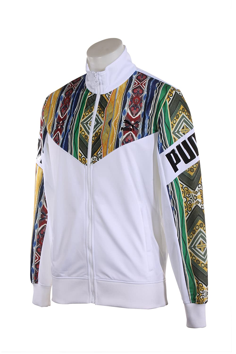 differently b20de 45dff 575201-01 Men COOGI Track Jacket PUMA White: PUMA: Amazon.ca ...
