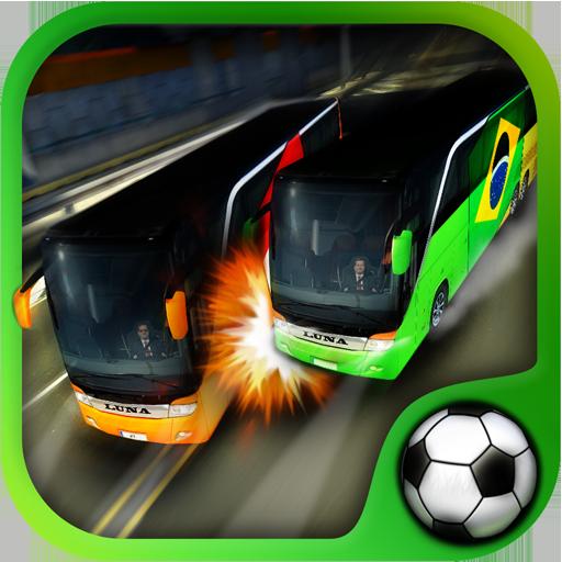 Sparrow Head - Soccer Team Bus Battle - World Cup 2014