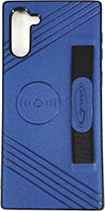 mobile Cover Portable for samsung galaxy note 10 by GMAX color blue