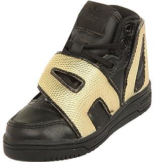 online retailer 1cbaa a54bd adidas Jeremy Scott Kids Sneakers JS LETTER GOLD I noir or M18991