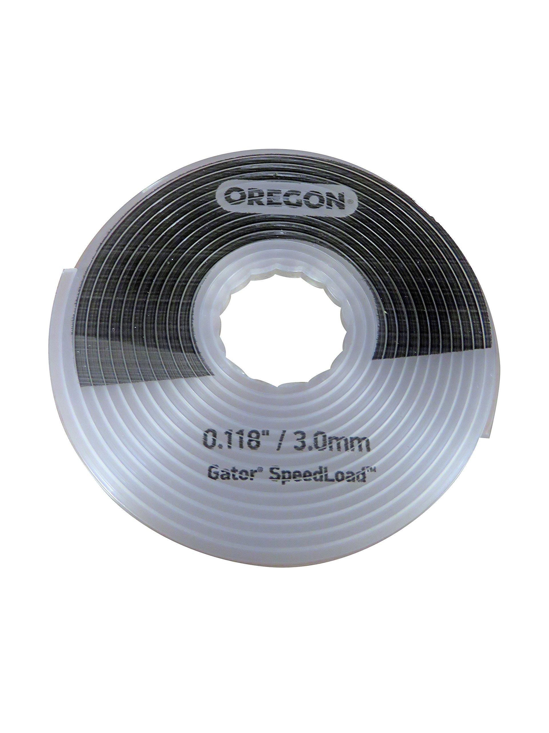 Oregon 24-518-25 Gator SpeedLoad Trimmer Line.118'', 25 Pack, LG