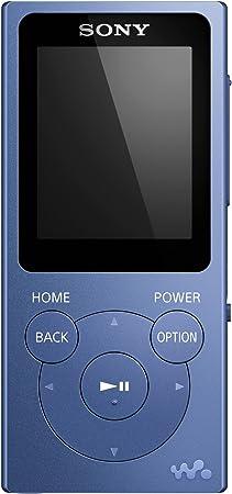 Sony NWE394L - Reproductor MP3, reproducción de música, foto, radio FM, 8 GB, Azul