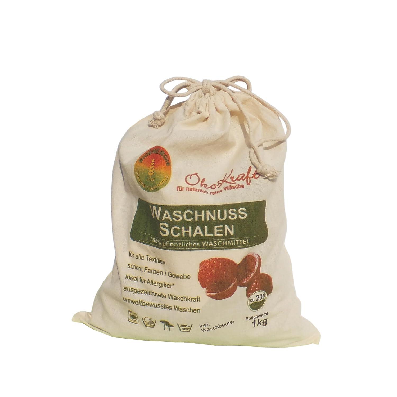 Bioenergie Waschnuss-Schalen