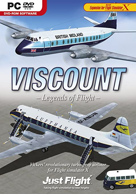 Amazon com: Viscount Professional for Flight Simulator X PC DVD Game