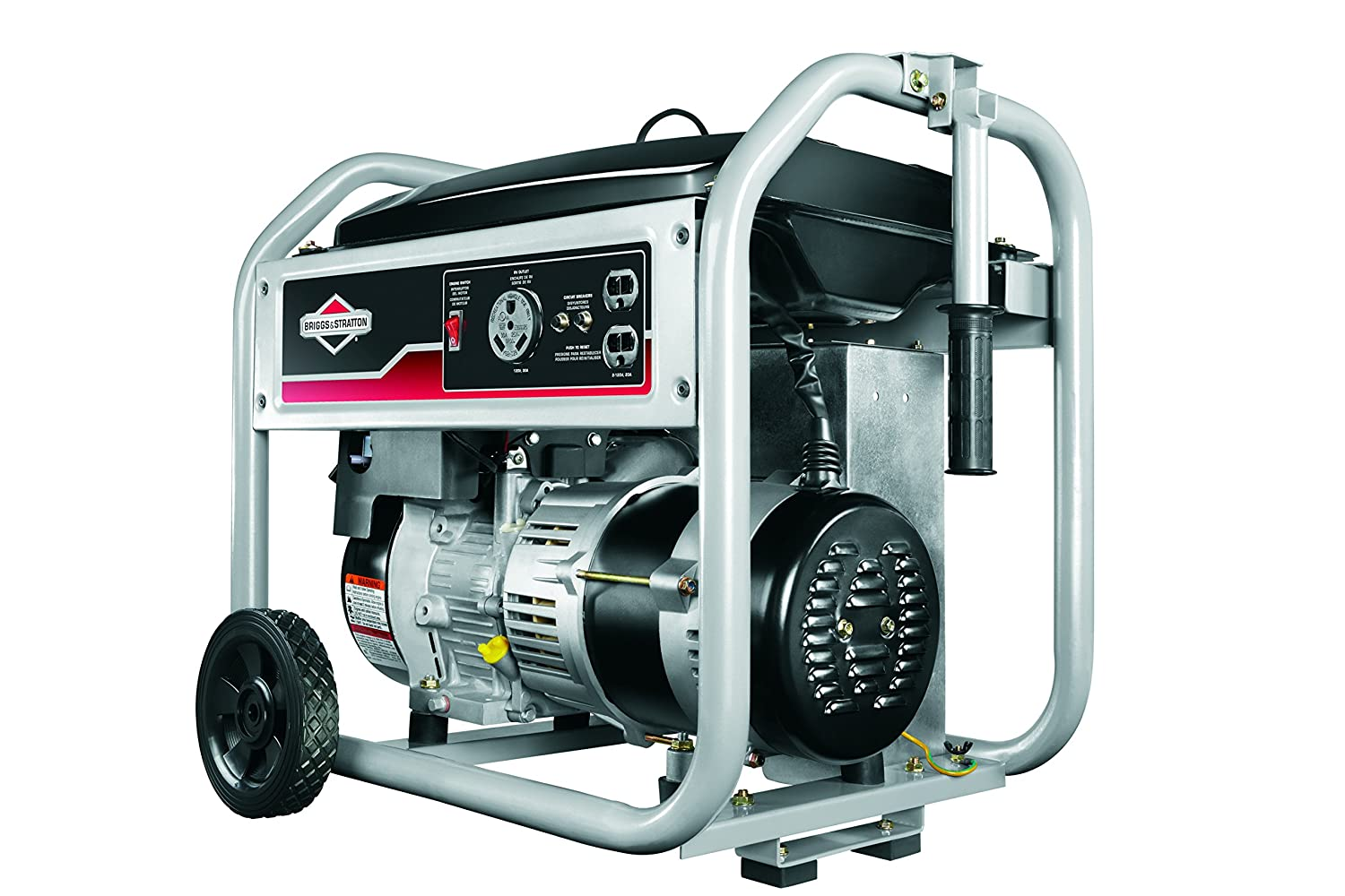 Briggs Stratton 30547 3500 Running Watts 4375 And Electrical Wiring Starting Gas Powered Portable Generatordiscontinued By Manufacturer Garden Outdoor