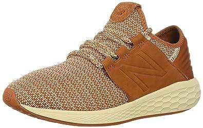 fd487c69af New Balance Herren Fresh Faom Cruz v2 Hygge Pack Sneaker, Orange  (Canyon/Hemp