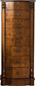 Hives and Honey Traditional Jewelry Armoire with Mirror, 38