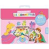 Ma pochette de gommettes -100 gommettes p'tites princesses - 100 p'tites princesses