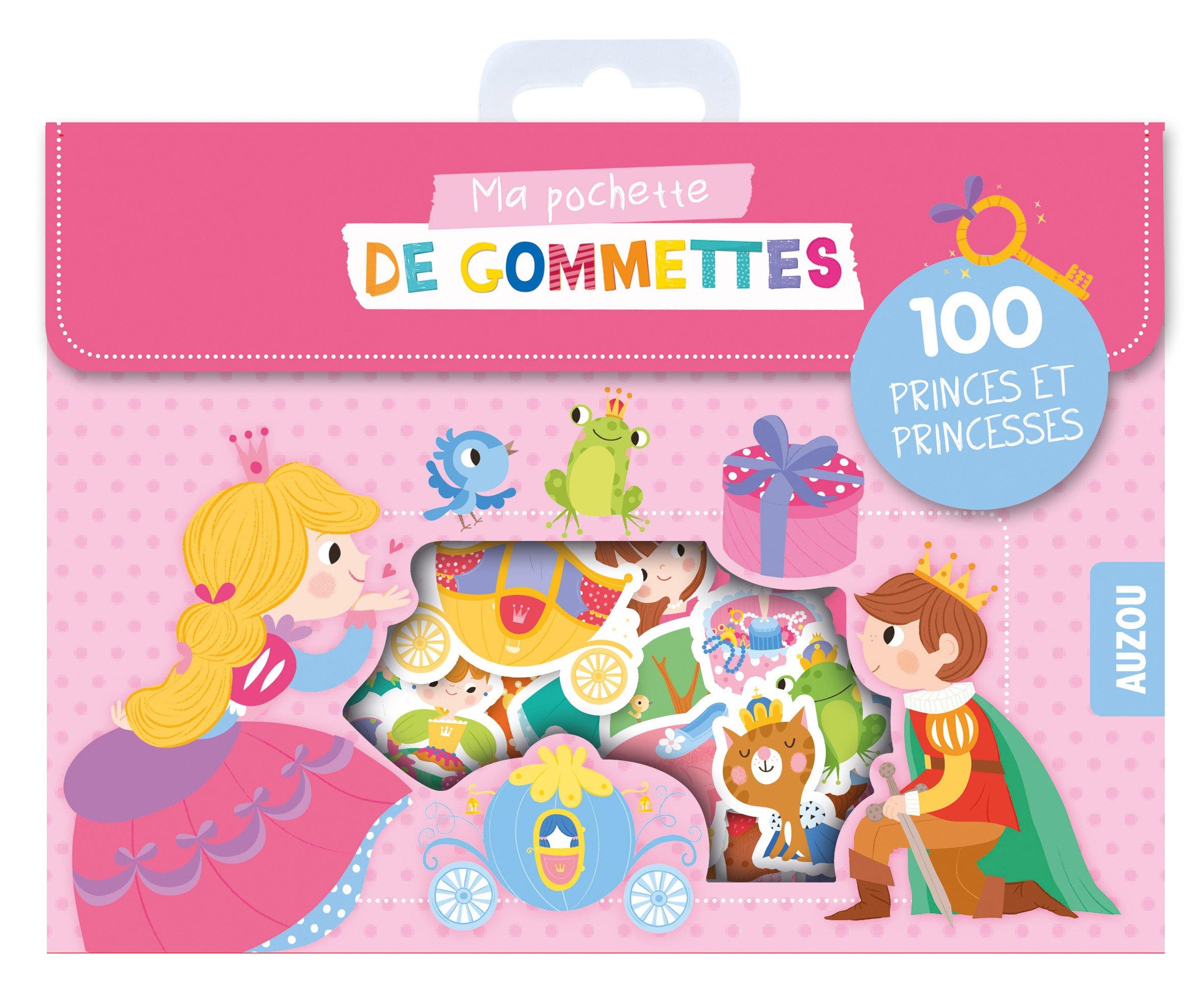 Ma pochette de gommettes - P'tites princesses Boîte – 12 janvier 2017 Maria Neradova Auzou Editions 2733846523 Jeunesse