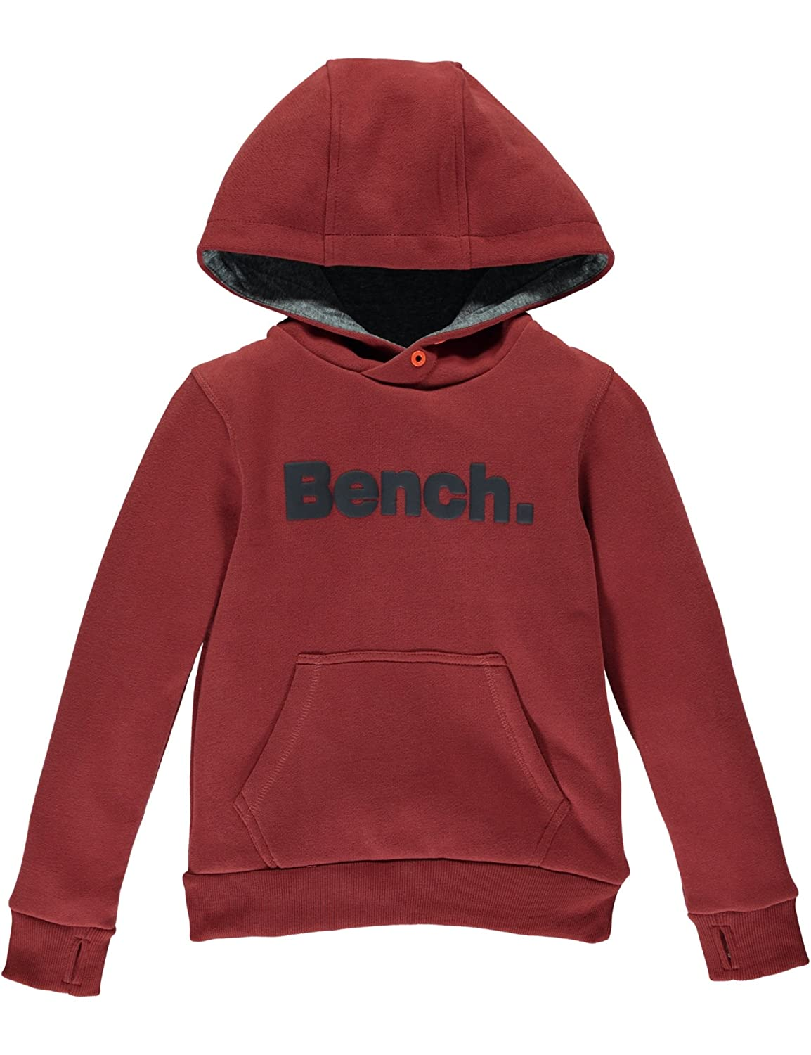 Bench Boy's Loop Back-C Hoodie Brown (Rosewood) 3-4 Years BBEK0453C