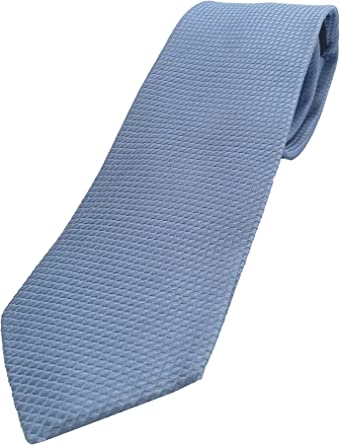 Corbatas de hombre - 100% seda - Corbata azul claro - corbata ...