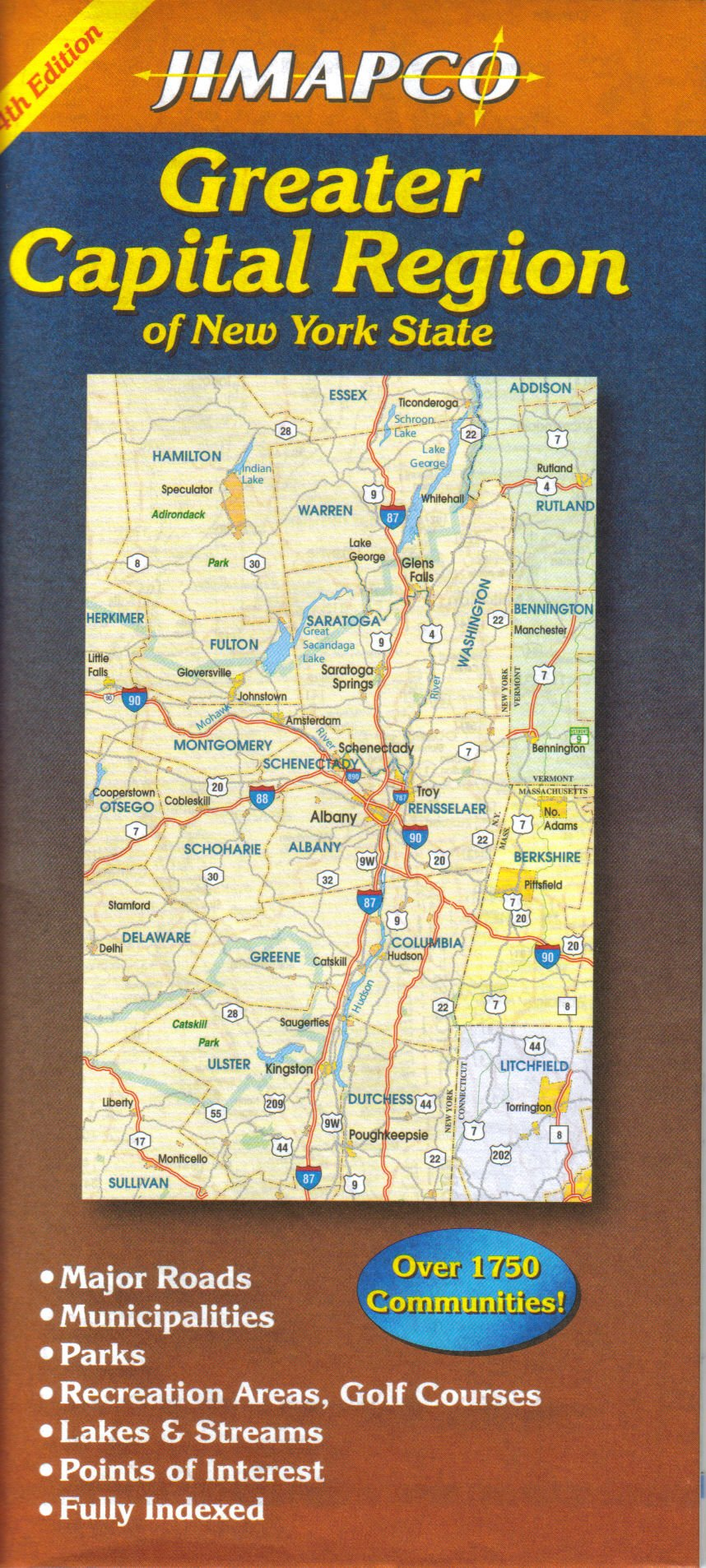 Download Greater Capital Region of New York State pdf epub