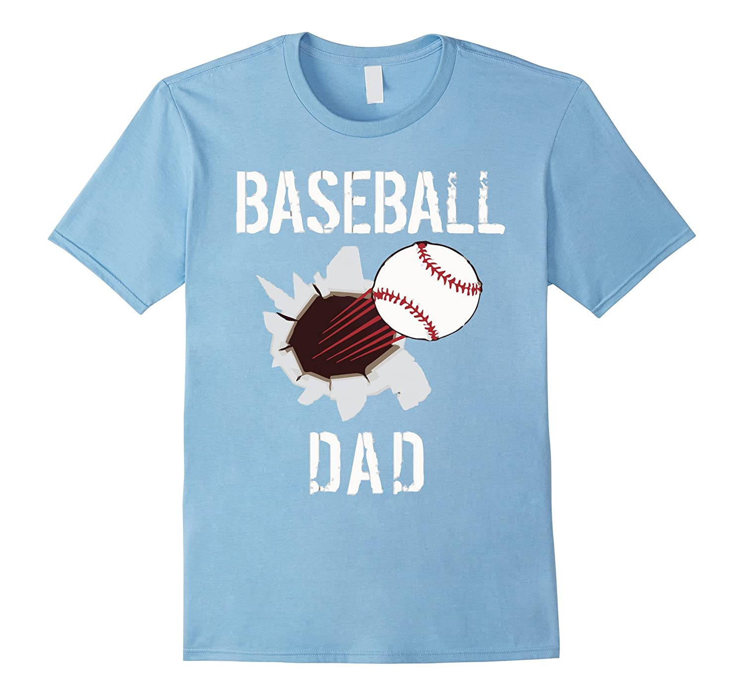 Baseball dad t shirt gift for fathers day art artvinatee T shirts for dad
