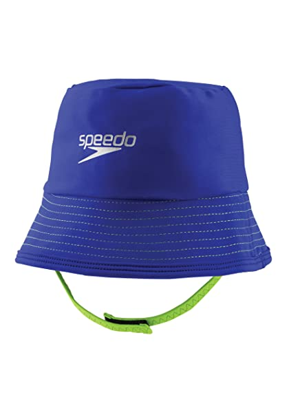 Amazon.com   Speedo Kids  UPF 50+ Bucket Hat with Chin Strap 74f968eb7b3b