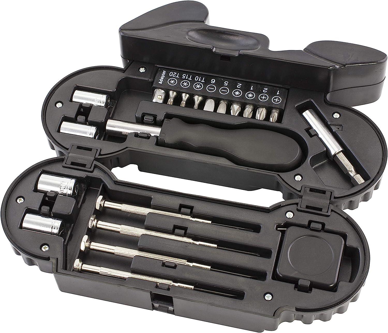 22 Piece Kit Motorcycle Shaped Tool Set