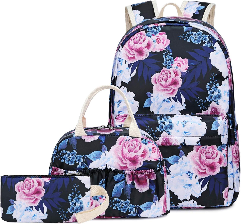 Coloranimal Cartoon Dinosaur School Backpack for Kids Girls Boy Primary Student Adjustable Straps School Bag Bookbags Women Men Laptop Rucksack Travel Daypack Knapsack Cute Dino Pattern
