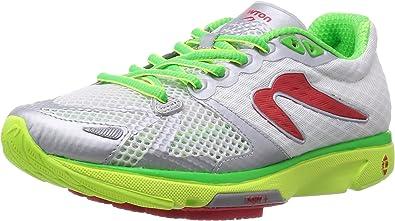 Newton - Zapatillas de Running de Material Sintético para Hombre Blanco Blanco: Amazon.es: Zapatos y complementos