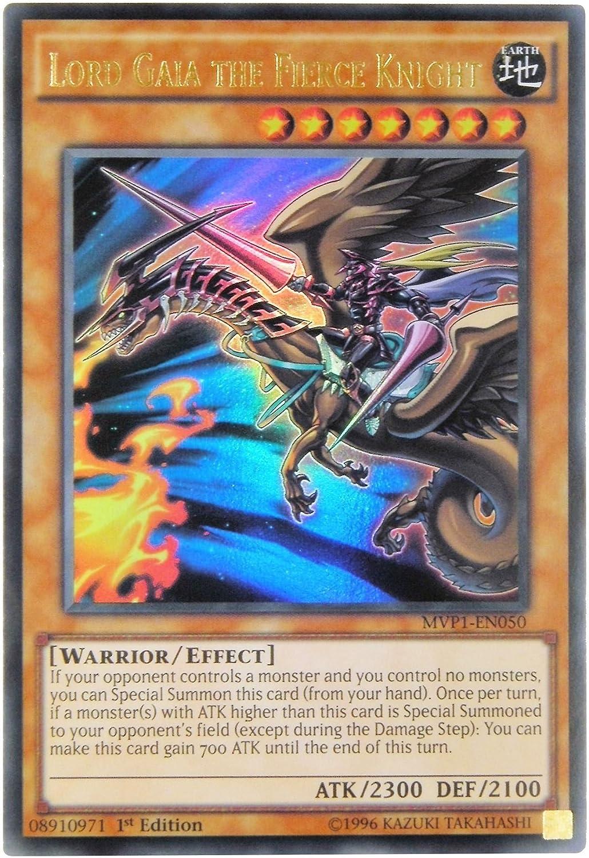 Yu Gi Oh Lord Gaia The Fierce Knight Mvp1 En050 Ultra Rare