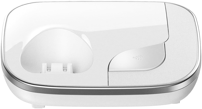 strahlungsarm weinrot schnurloses Telefon Panasonic KX-TGJ320GR Familien-Telefon mit Anrufbeantworter// DECT Basisstation