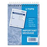 Tops 4010 Important Message Pad, 4-1/4-Inch